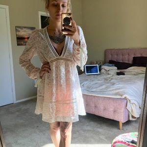 For Love & Lemons sweet disposition swing dress XS